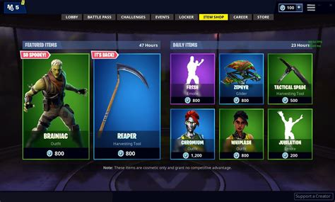 fortnite item shop featured  daily items today