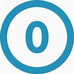 Zero Icon Round Null Icons Editor Open