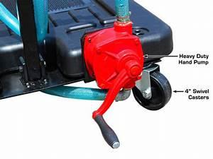 Dynamo 17 Gallon Low Profile Portable Oil Drain With