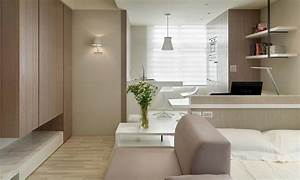Tiny Studio Apartment By WCH Interior | Home Design ...