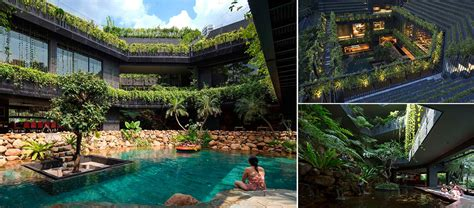 Eco-friendly Family Home In Singapore