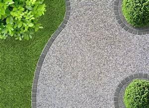 cour en beton desactive recherche google touzelles With dalle pour allee de jardin 4 focus dallage entree moderne terrasse et patio