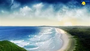 Wild beach wallpaper 1600×900 – Creative Design Fullscreen