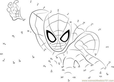 print spiderman  superhero dot  dot