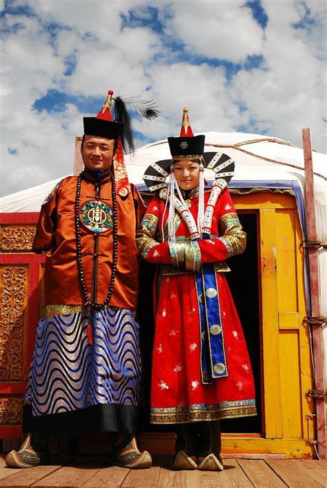 mongolian traditional clothes batbileg lkhagvadorzh flickr