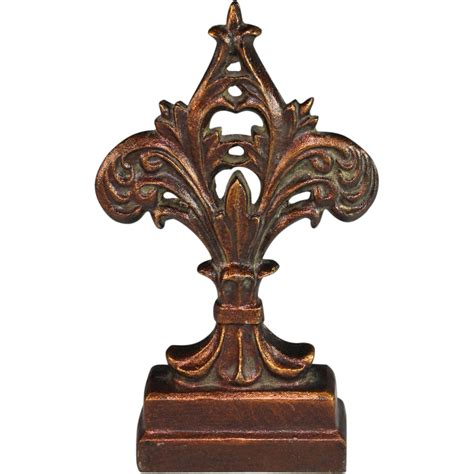 cast iron door stops antique cast iron doorstop door stop fleur de lis from