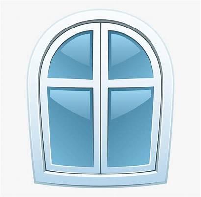 Window Clipart Doors Gingerbread Curtains Windows Transparent