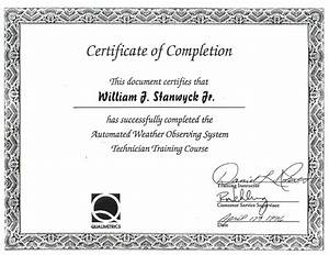 Free Certificate Template 13 Certificate Of Completion Templates Excel PDF Formats