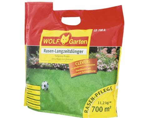 Rasendünger Wolfgarten Ld 700 A 11,2 Kg Bei Hornbach Kaufen