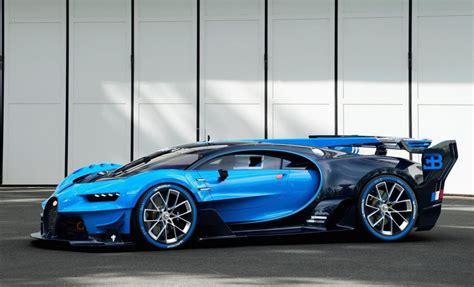 Reallife Bugatti Vision Gran Turismo Looks Insane