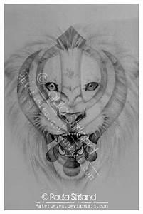 Khanda Lion by hatefueled on DeviantArt