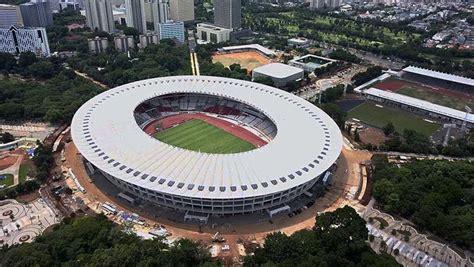 sejarah stadion gelora bung karno  kembarannya  bakal gelar piala dunia  ublikid
