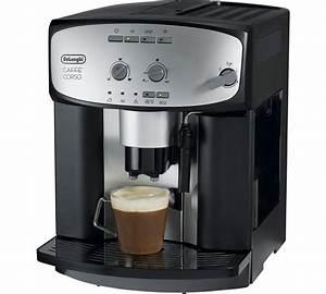 Machine A Cafe : de longhi esam2800 cafe corso bean to cup coffee machine ~ Melissatoandfro.com Idées de Décoration