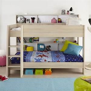 Lit Sureleve Enfant : lit enfant surelev 90x200cm romeo beige ~ Teatrodelosmanantiales.com Idées de Décoration