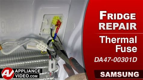 samsung rfksr refrigerator  defrost thermal