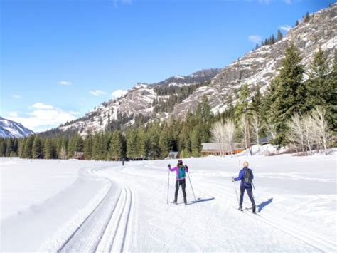 country cross ski washington trail methow valley