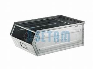 Bac A Bec Metal : bac bec m tallique zingu double barre 28 litres ~ Edinachiropracticcenter.com Idées de Décoration