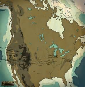 Fallout Universe Map