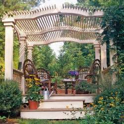 Adding A Pergola To An Existing Deck by 22 Beautiful Garden Design Ideas Wooden Pergolas And