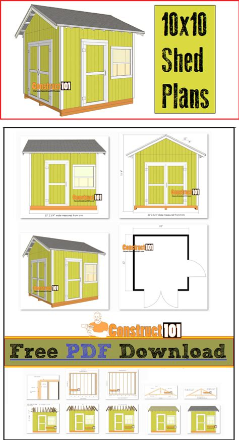 shed plans  gable shed   shopping