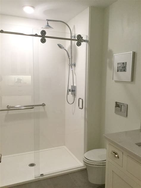 Removing Cultured Marble Shower Walls - custom cultured marble and granite shower pans bases