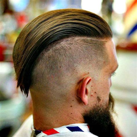 slicked  hairstyles  mens haircuts