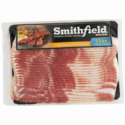 Bacon Smithfield Smoked Hickory Kroger Hometown Hover