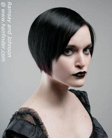 gothic frisuren weiblich kurz festliche frisuren