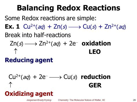 Chapter 6 Oxidationreduction Reactions  Ppt Video Online Download