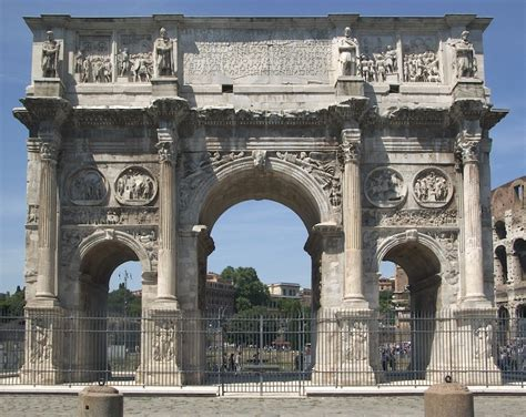 Arch Of Constantine, Rome Smarthistory