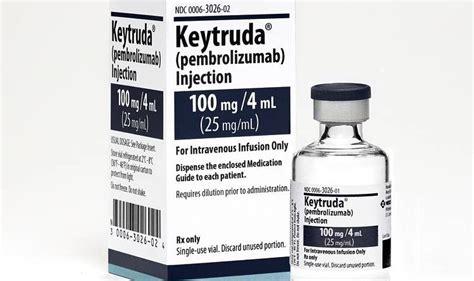 Merck's Keytruda: First imported drug approved for use ...