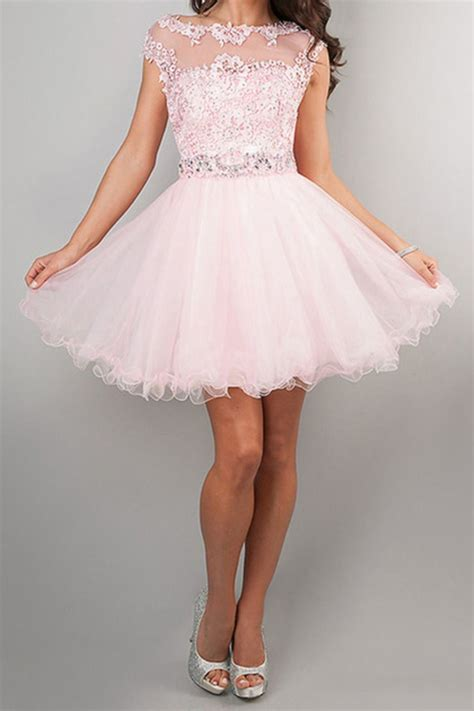 clearance homecoming dresses pink size  cheap