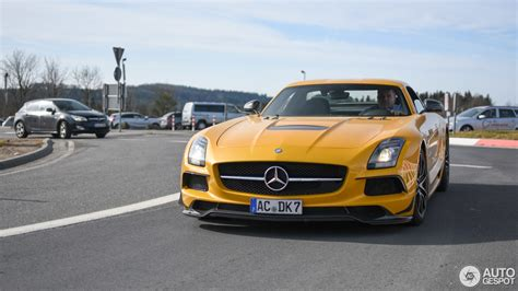 The insanity concludes soon with the 2015. Mercedes-Benz SLS AMG Black Series - 6 June 2018 - Autogespot