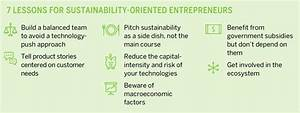 Tips for sustainability-oriented entrepreneurs seeking ...