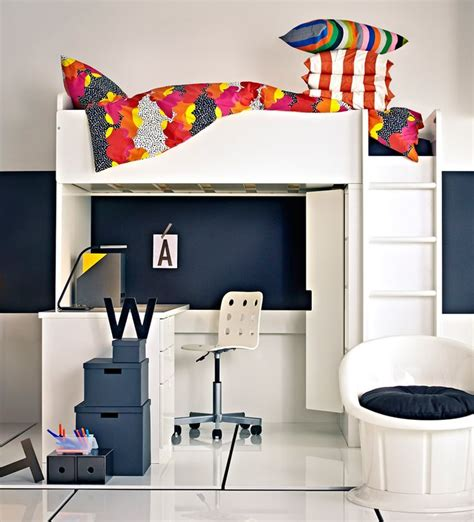 ikea loft bed with desk stuva malad loft bed with desk and wardrobe by ikea