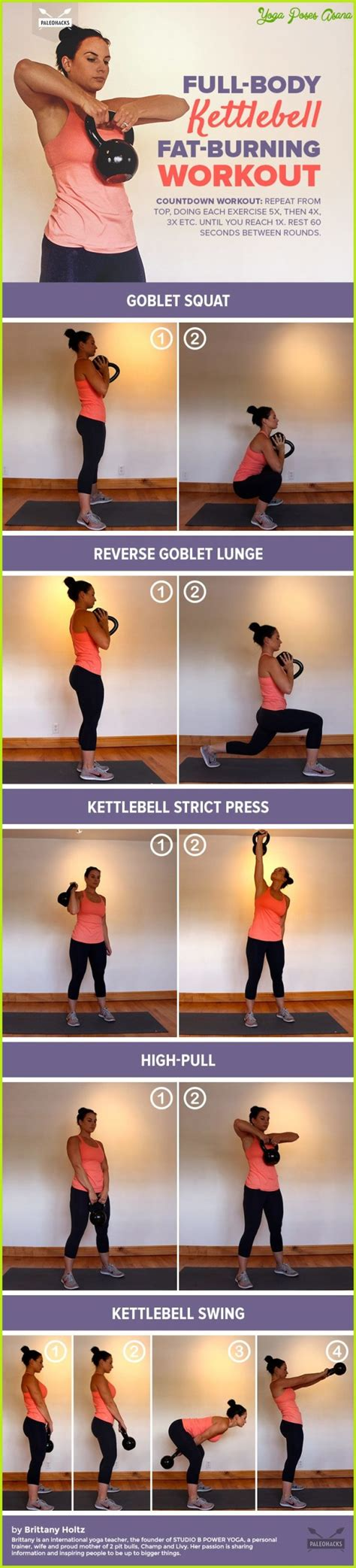 kettlebell body upper exercises workout burning fat yogaposesasana substances