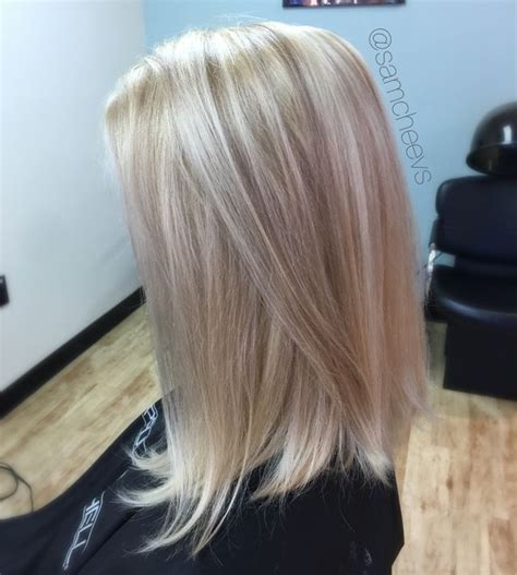platinum white butter blonde hair color  dirty blonde
