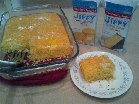 jiffy cake mix cornbread mix a jiffy cornbread mix with a jiffy yellow