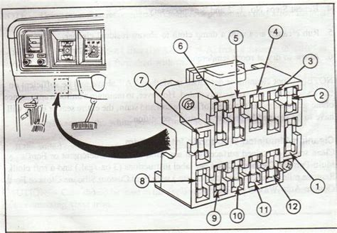 fuse panel diagram ford truck enthusiasts forums