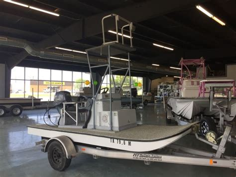 Flat Bottom Boat Console by 1978 Dargel Boats Scooter Scooter