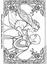 Coloring Bard Shakespeare Pages Paper William Hermia Template Colouring Puppets sketch template