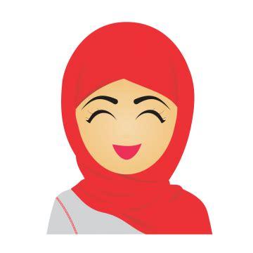 hijab icon png gambar islami