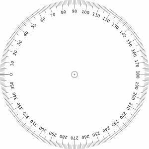 360 degrees angle clip art at clkercom vector clip art With 360 degree compass diagram