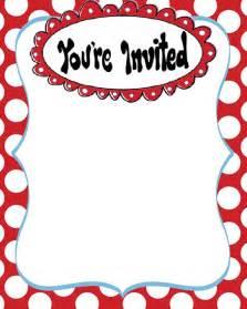 Dr. Seuss Invitation Template Free