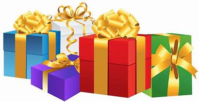 Gift Transparent Christmas Clipart Boxes