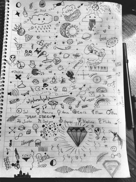 cute notebook doodles tumblr - Google Search | Doodles | Pinterest | Notebook doodles, Doodles