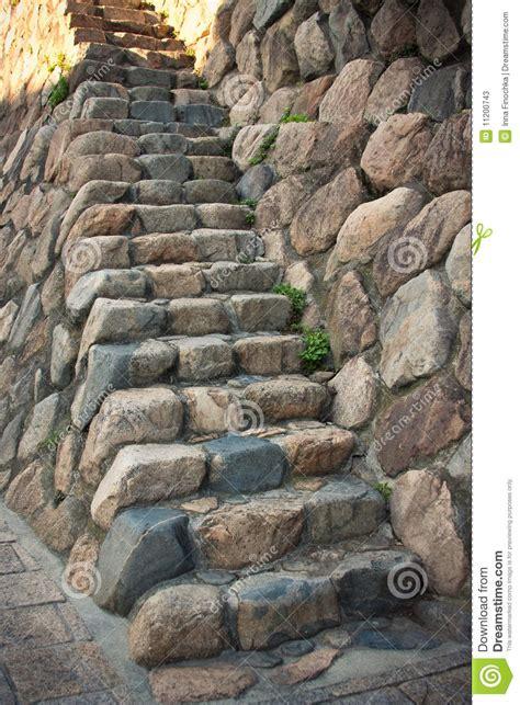 Treppe An Der Wand by Treppe In Der Wand Stockbild Bild Beschaffenheit