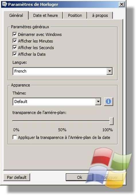 afficher horloge sur bureau windows 7 logiciel afficher l horloge d htc sur votre bureau windows