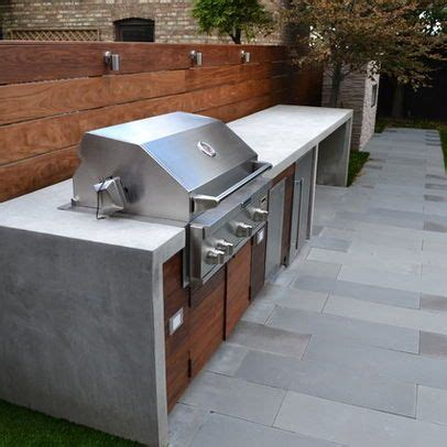 Backyard Built In Bbq by Modern Home Bbq Design Ideas Pictures Remodel And Decor