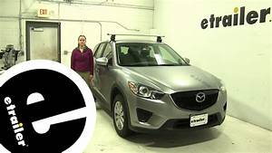 Review Of The Thule Roof Rack On A 2014 Mazda Cx